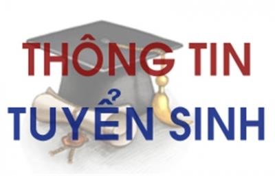 Thông báo tuyển sinh ĐT trình độ Ths đợt 2 năm 2020